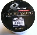 EVO Tournament 8 Braid Accudepth Multicolor 0,26mm 19,8kg